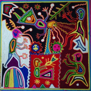 Les voies du tissage en fil: les matériaux de l'art huichol
