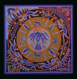 L'aigle, messager des dieux – Fidencio Benitez 2007 60×60