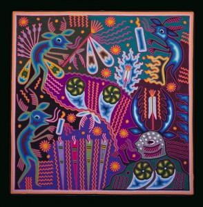 Pouvoirs de guérison – Seferino Diaz Venitez 2007 60×60