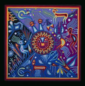 La naissance du soleil – Juan Minjares de La Cruz 2007 60×60