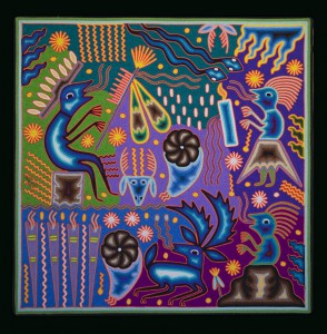 La médecine du peyolt – Seferino Diaz Venitez 2007 60×60